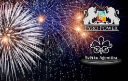 PYRO POWER International fireworks в Риге.14 мая 2016 года